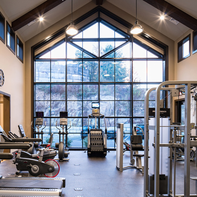 The Mark - State-of-the-Art Fitness Center with Cardio Machines, Resistance Equipment, and Oxygen Wall