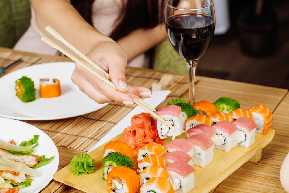Experience Japanese Cuisine In Shelton